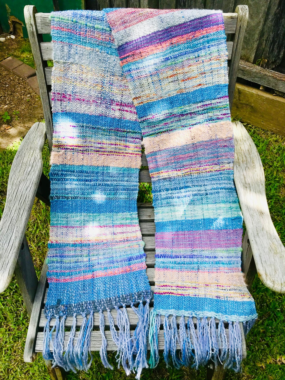 Image of Custom Made Woven Scarves