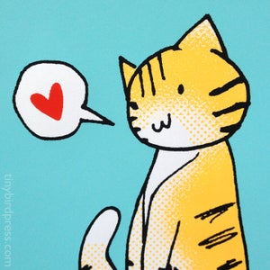 """""""The Cat With A Heart"""""""