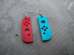Joyful Game Controller Earrings