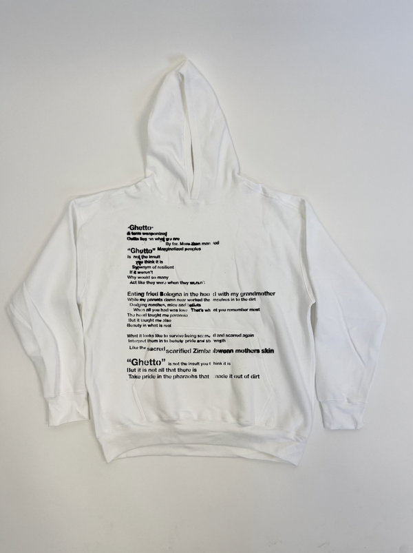 """Image of """"GHETTO"""" HOODIE"""