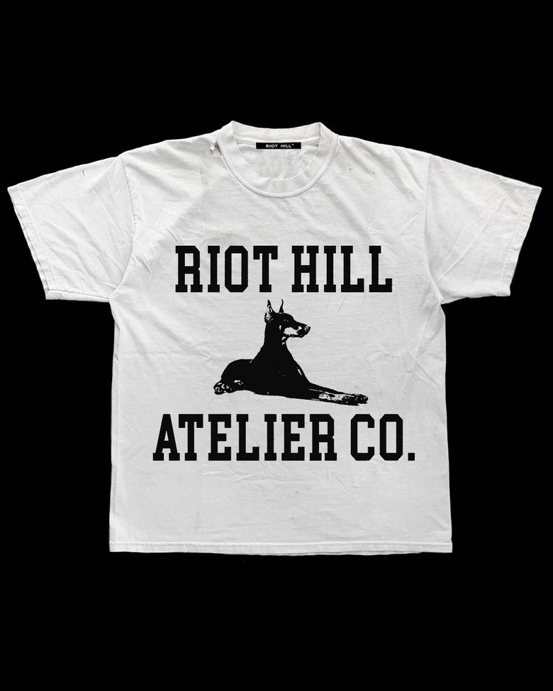 Image of WHITE RH ATELIER CO. T-SHIRT