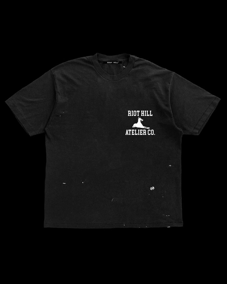 Image of BLACK RH ATELIER CO. T-SHIRT