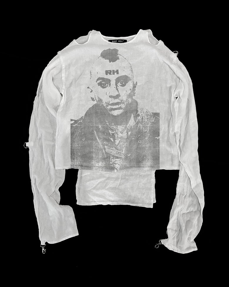 "Image of ""TRAVIS"" COTTON BONDAGE SHIRT"