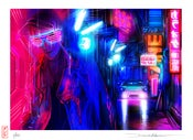 Image of 'Midnight Drive' - New limited edition print