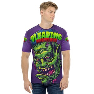 Image of Bleading Marvelous All over print Zombiestein T shirt