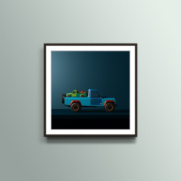 Image of Land Rover Defender Art - Still Life