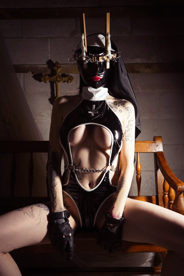 Image of Toxic Vision Sacrilege bodysuit