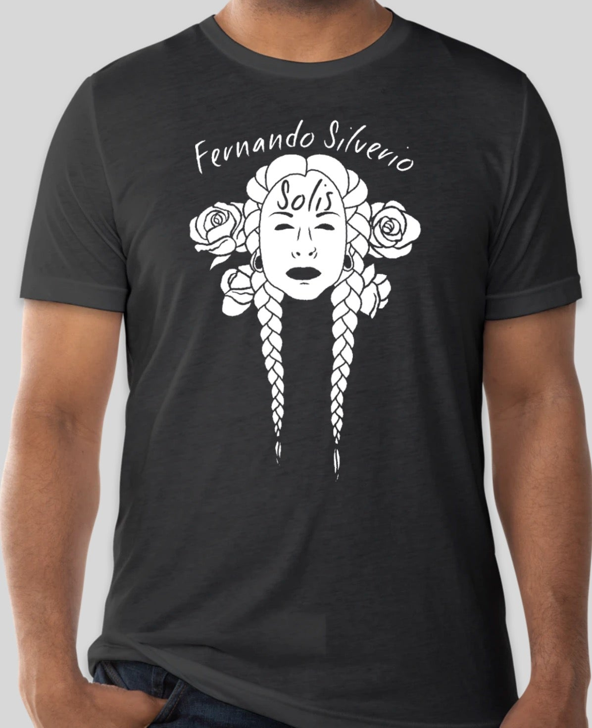 Image of Braids & Roses Shirt (Charcoal Black, Denim, Solid Black)