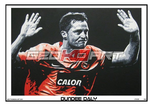 Image of JON DALY DUNDEE UNITED