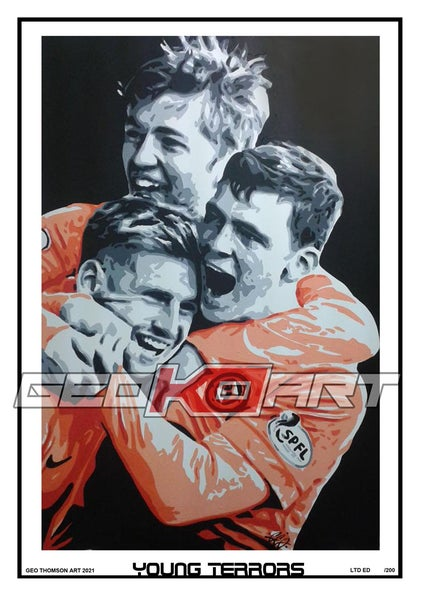 Image of YOUNG TERRORS DUNDEE UNITED