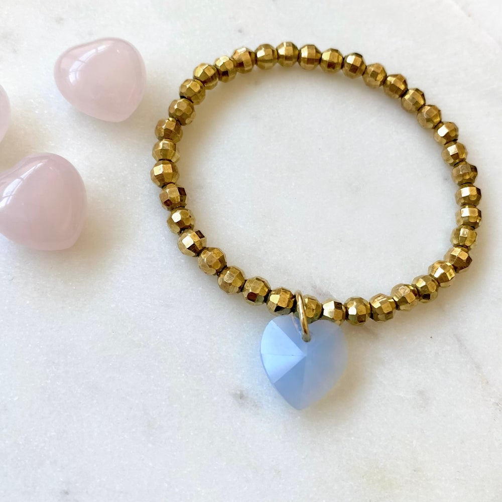 Image of Purple Heart Bracelet