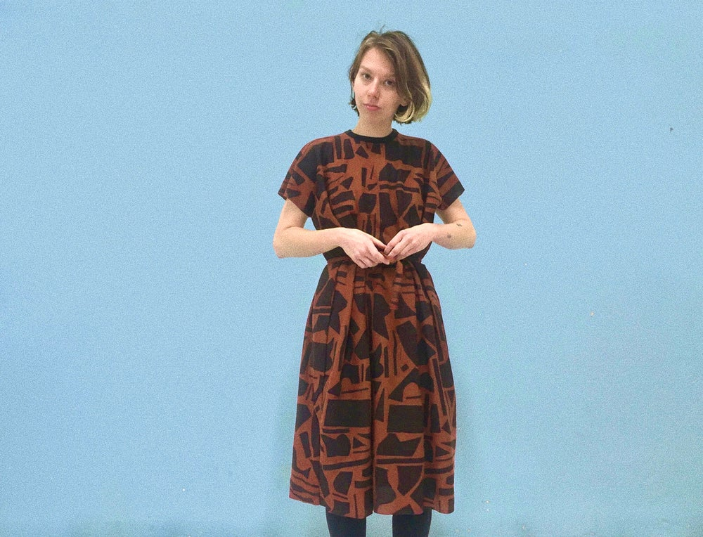 Image of CUT OUTS LOOSE DRESS