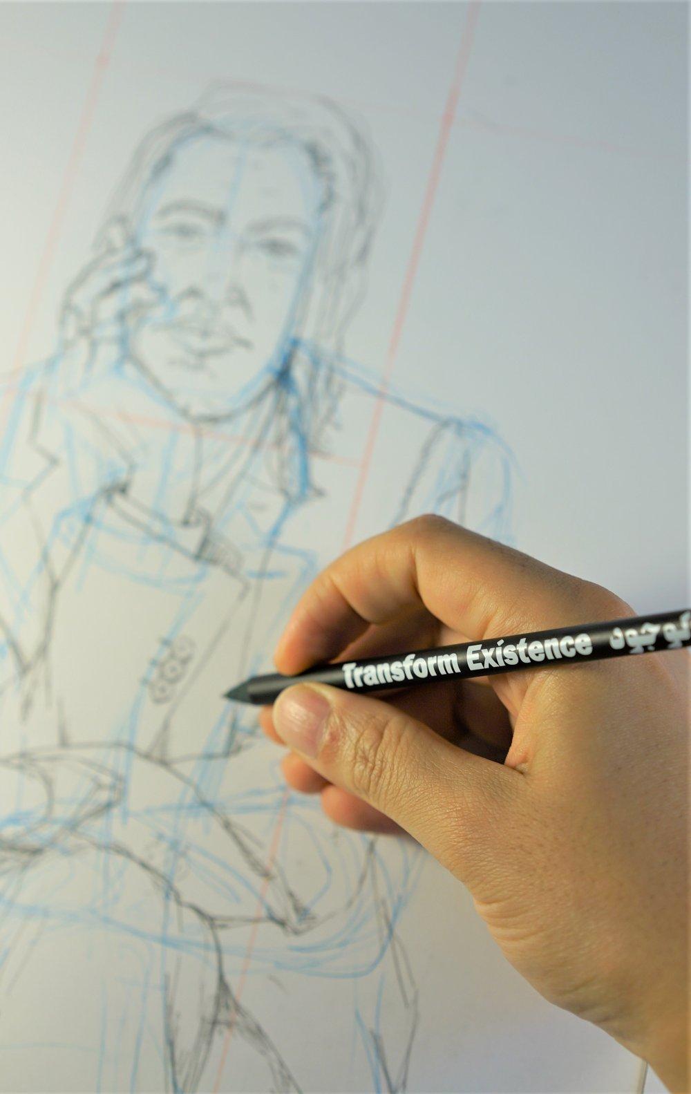 Transform Existence Pencil