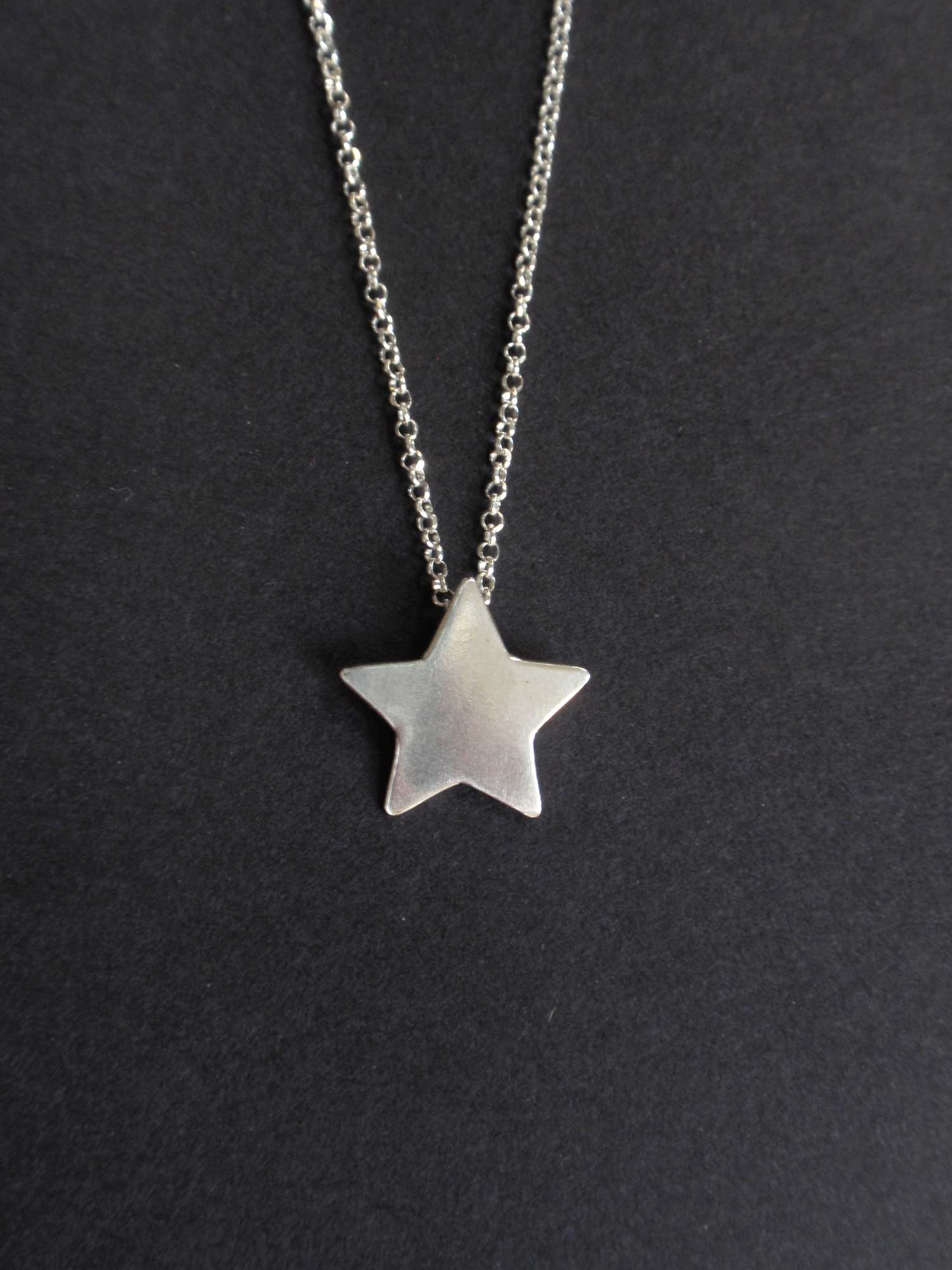 Image of Silver Star Necklace