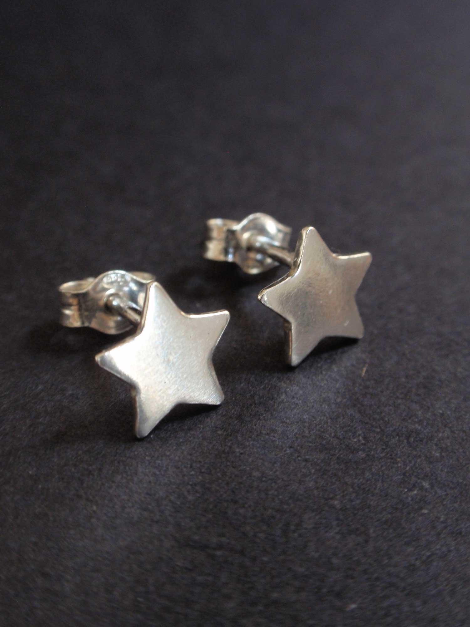 Image of Silver Stars Earrings