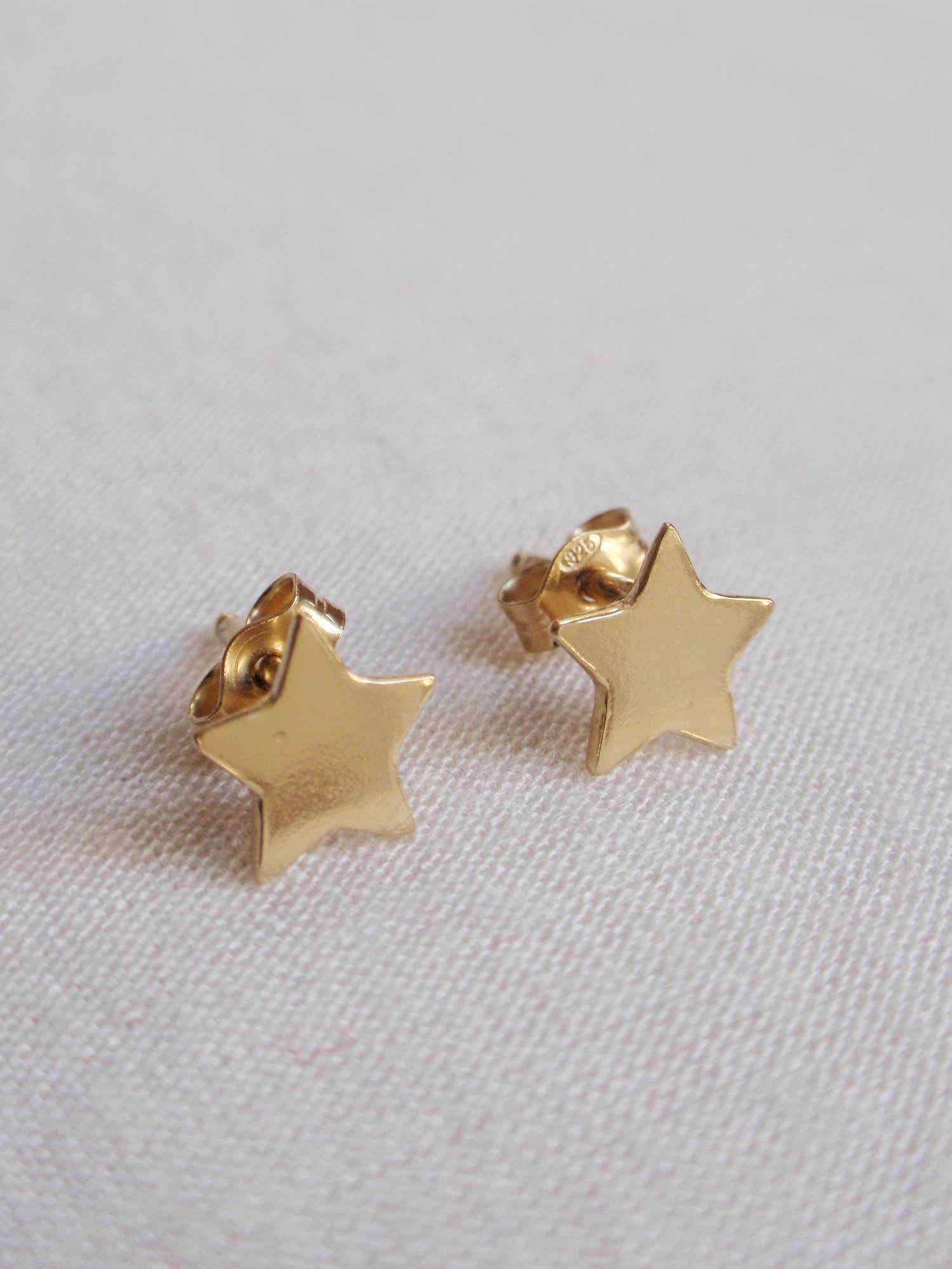Image of Golden Stars Earrings