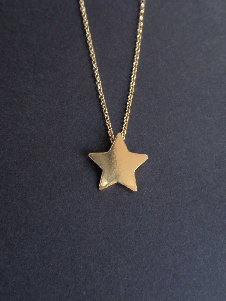 Image of Golden Star Necklace