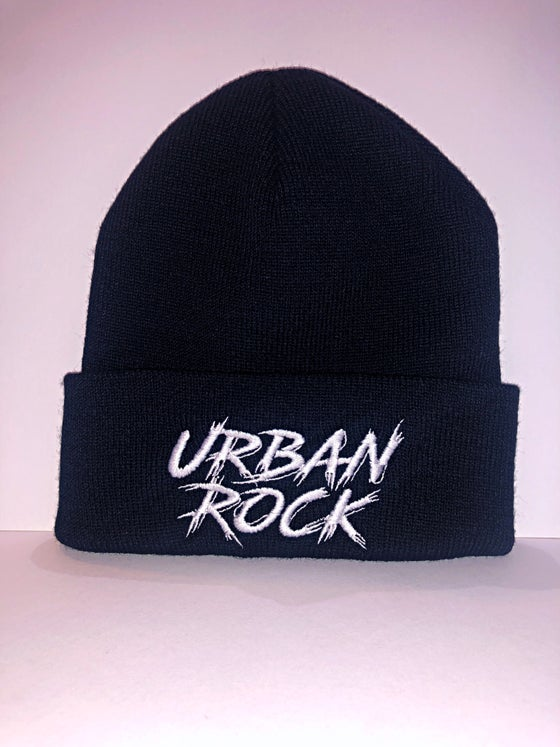 Image of Urban Rock Font Beanie