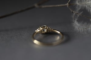 Image of 18ct gold, 5.3mm Rose cut diamond ring IOW169