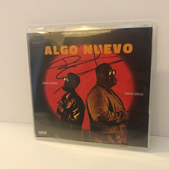 "Image of ""Algo Nuevo"" Signed Cds"