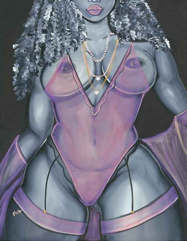 Image of Morgan Canvas Print