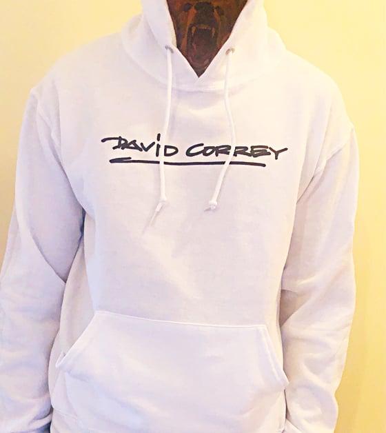 Image of David Correy Signature White/Black Hoodies