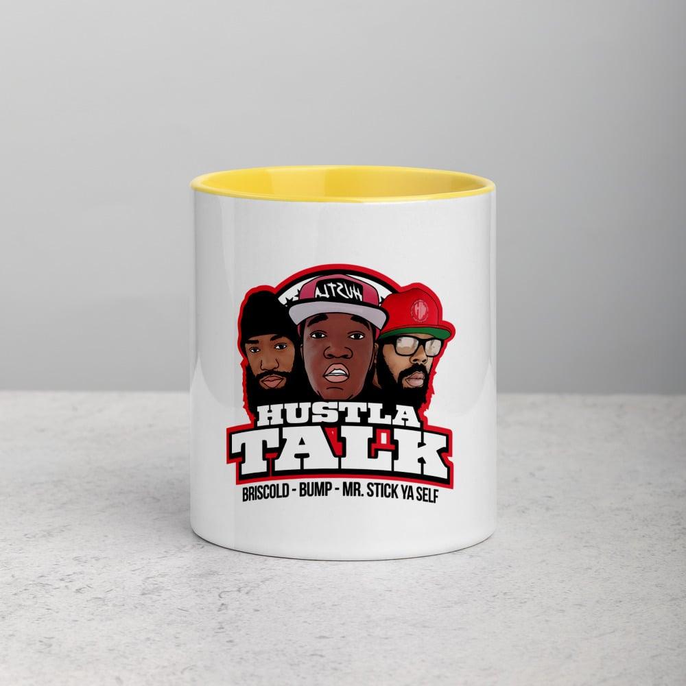 Image of Hustla talk pod mug