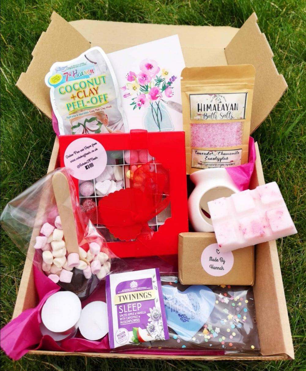 Image of Relax and indulge pamper box (Ideal for Mother's Day - but can be for other occasions)