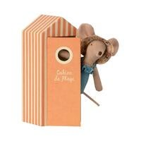 Image of Maileg - Beach Mouse Mum in Cabin