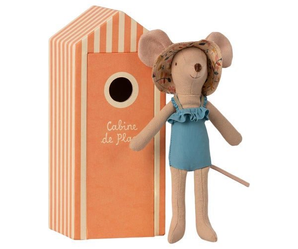 Image of Maileg - Beach Mouse Mum in Cabin (Pre-order)