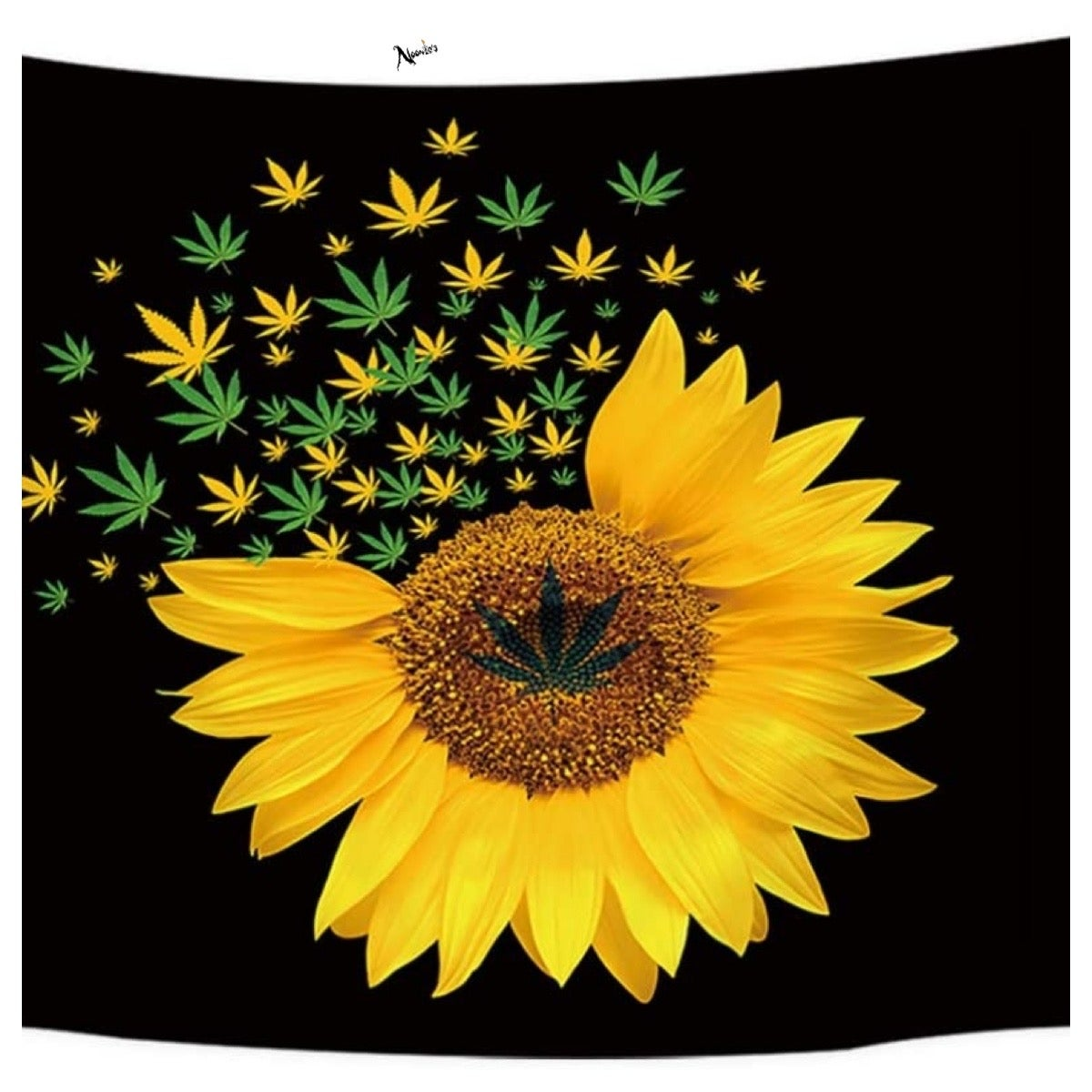 Image of Sunflower power tapestry