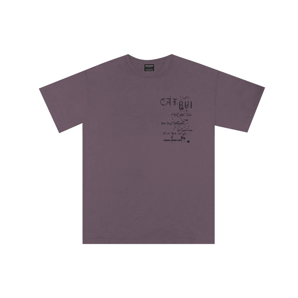 Image of Cat Bui T-shirt (Washed Iris)