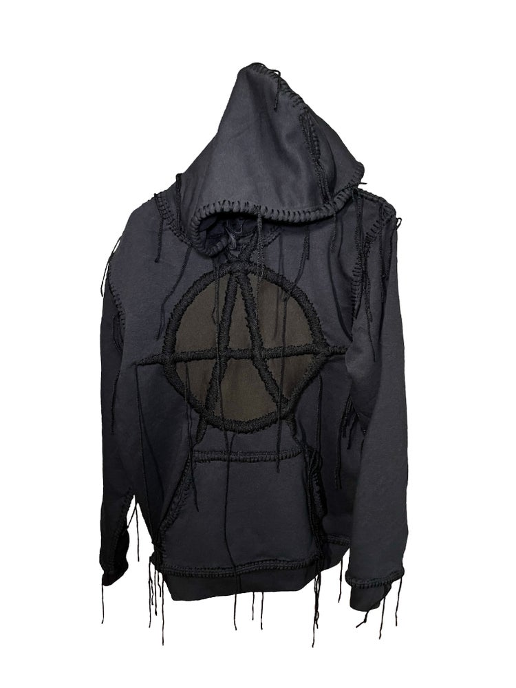 Image of MONOCHROME ANARCHY HOODIE