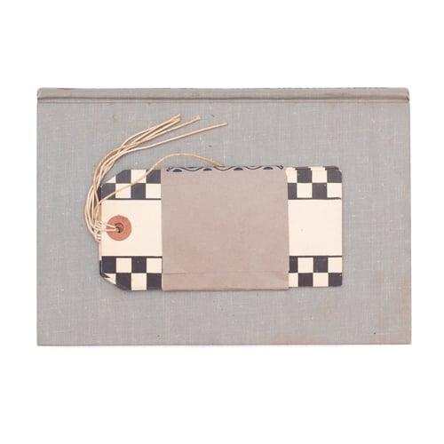 Image of Black & White Checkered Hang Tags