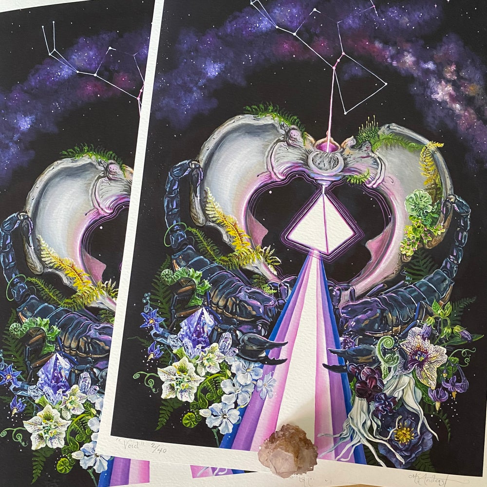 Image of Void ~ Limited edition print