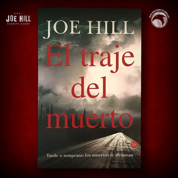 Image of JOE HILL 2021 CHARITY EVENT 4: SIGNED Heart-Shaped Box - Spanish paperback - 5 AVAILABLE