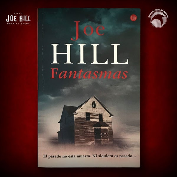 Image of JOE HILL 2021 CHARITY EVENT 5: SIGNED 20th Century Ghosts - Spanish paperback - 1 AVAILABLE