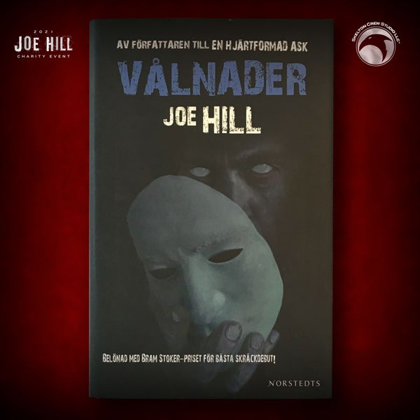 Image of JOE HILL 2021 CHARITY EVENT 11: SIGNED 20th Century Ghosts - Swedish hardcover - 1 AVAILABLE