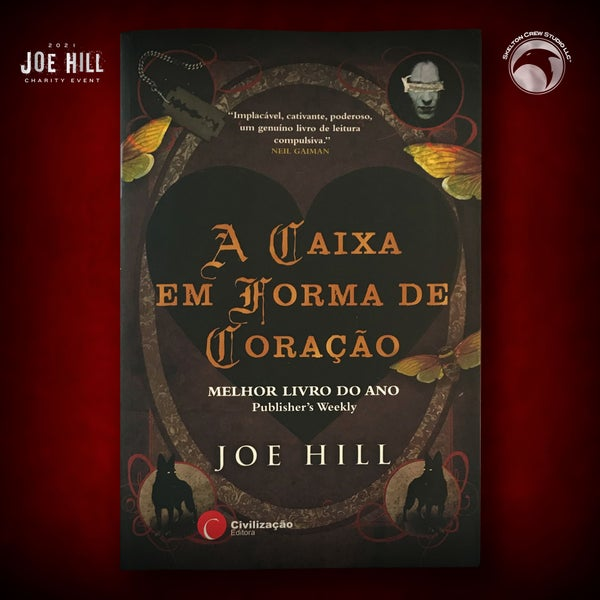 Image of JOE HILL 2021 CHARITY EVENT 17: SIGNED Heart-Shaped Box - Portugese paperback - 1 AVAILABLE