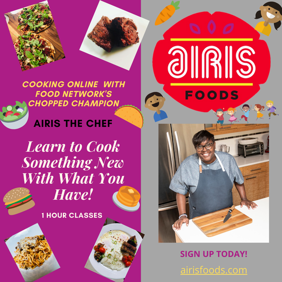 Image of Cooking at Home Together: BEGINNER KIDS EDITION  with Airis the Chef!