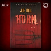 Image of JOE HILL 2021 CHARITY EVENT 21: SIGNED Horns - Danish hardcover - 1 AVAILABLE