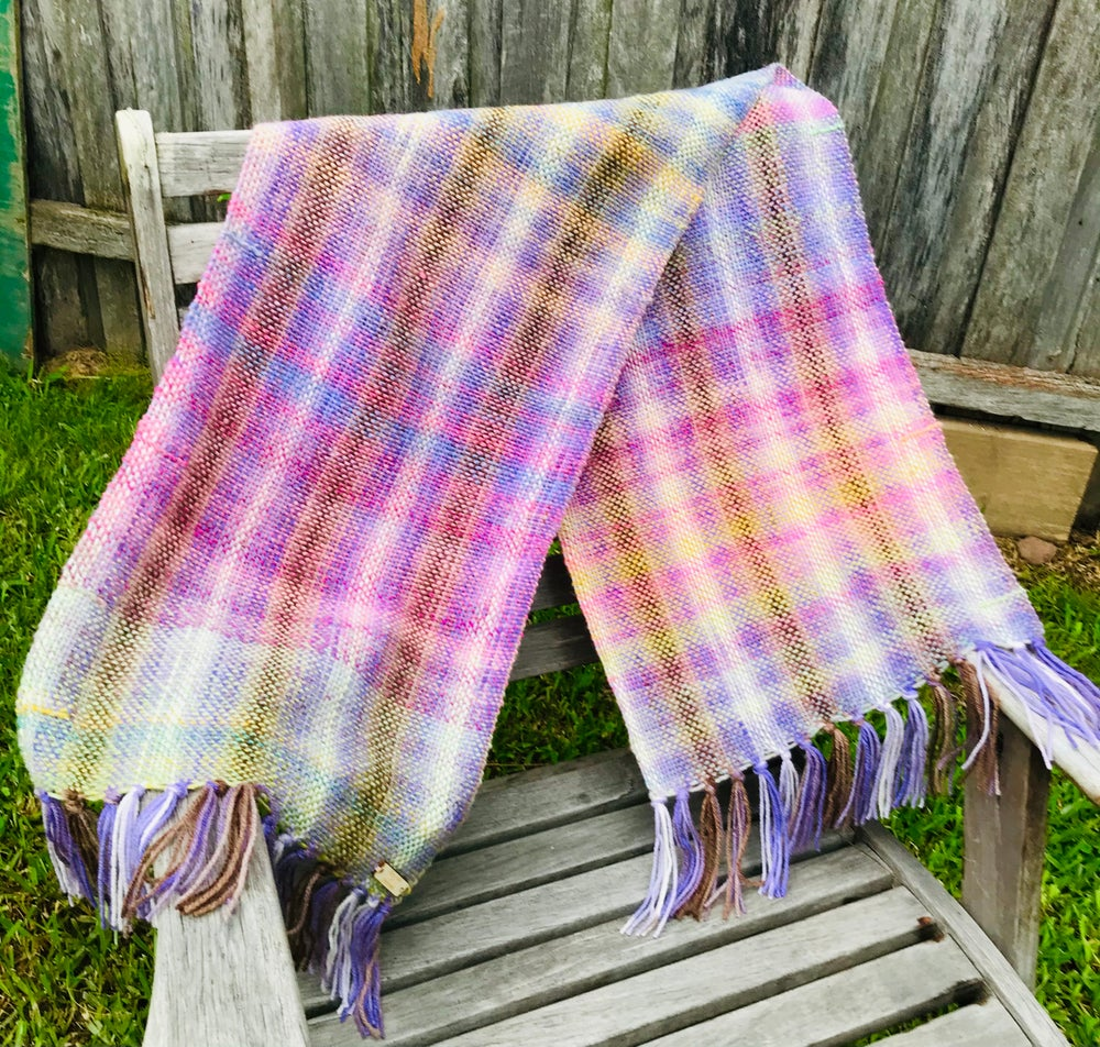 Image of Purple Days Woven Scarf