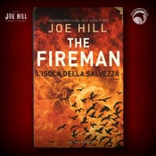 Image of JOE HILL 2021 CHARITY EVENT 22: SIGNED The Fireman - Italian hardcover - 3 AVAILABLE