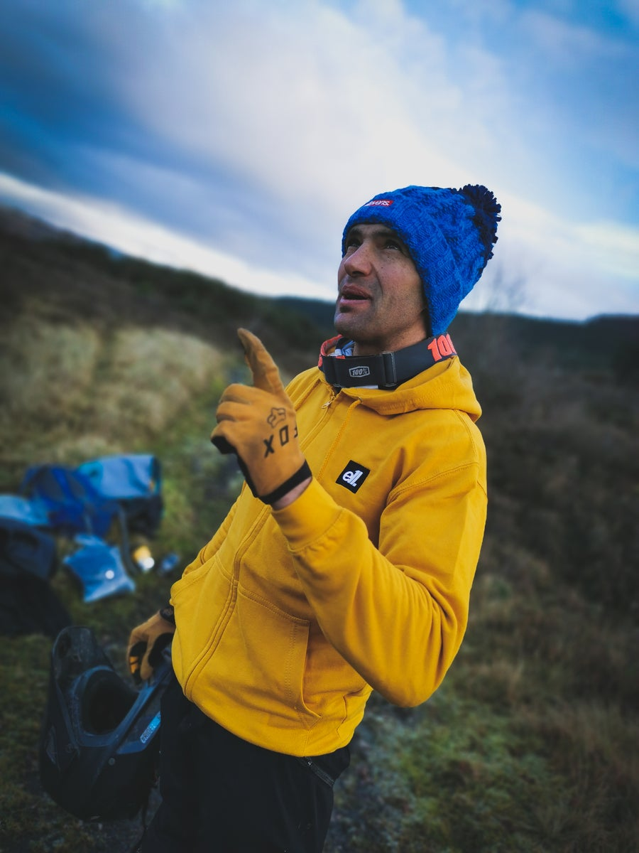 Image of E11evens - Mustard zipped hoodies