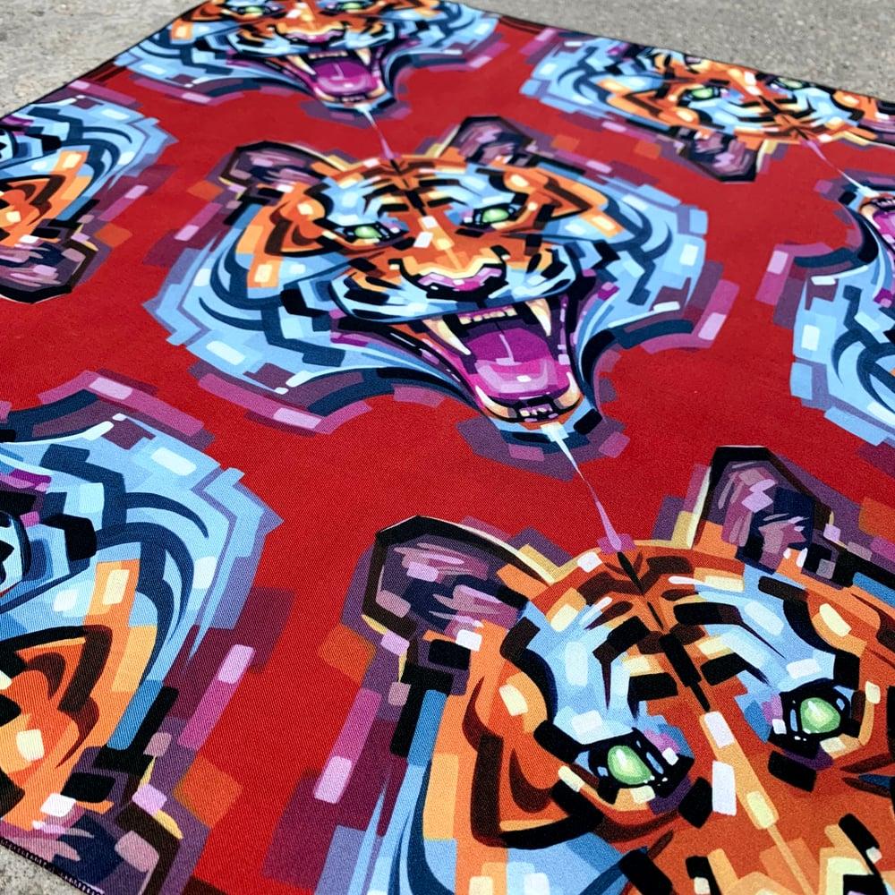 Limited-Edition Silk Tiger Scarves