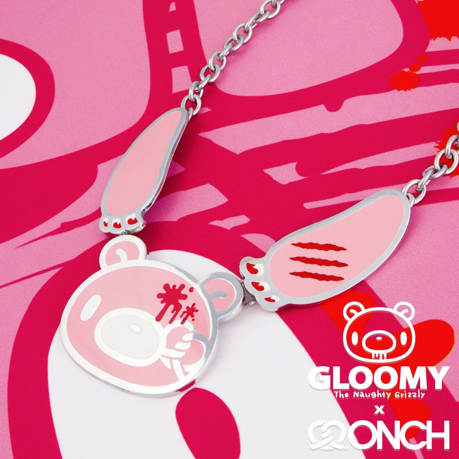 Image of Gloomy Bear x ONCH Statement Necklace