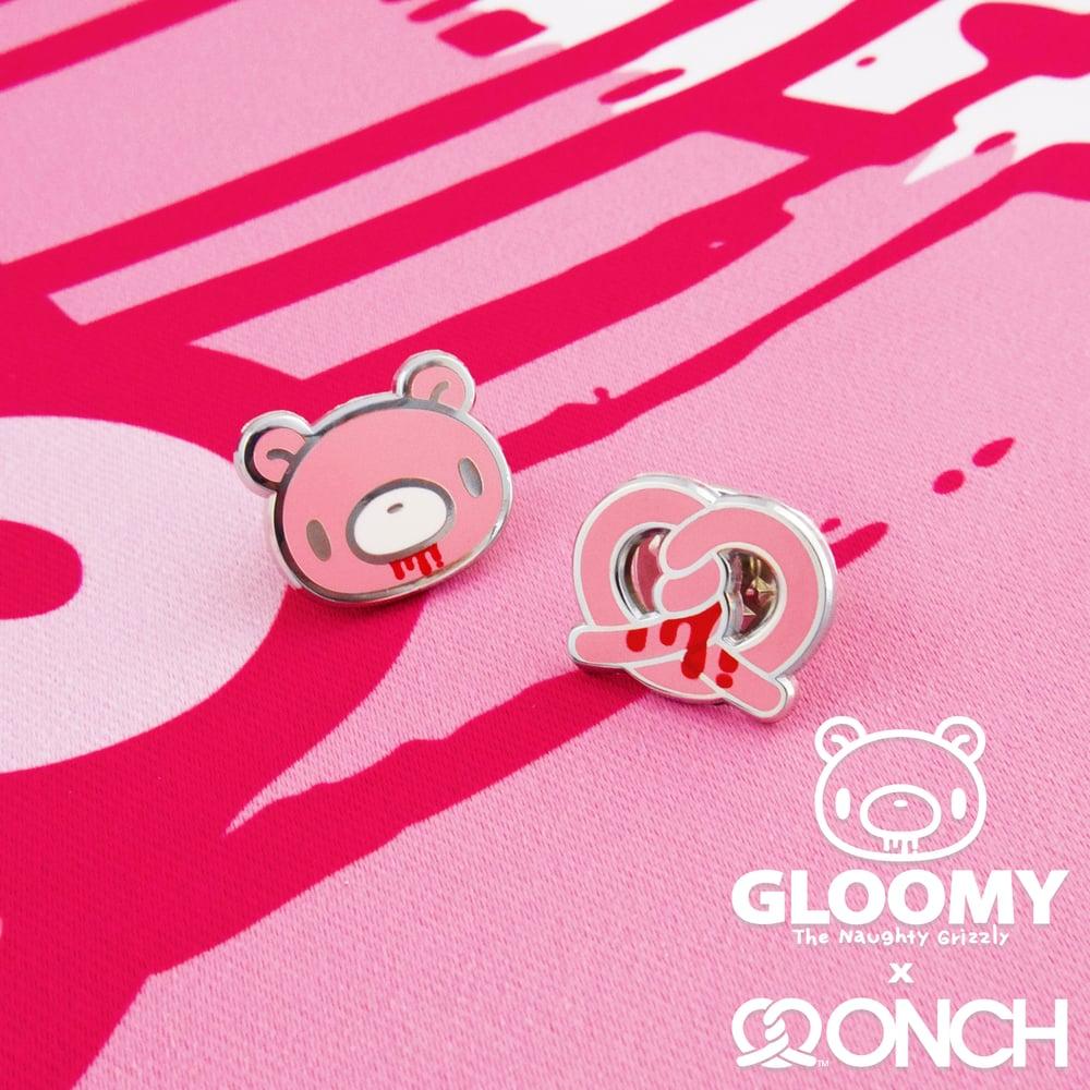 Image of Gloomy Bear x ONCH Pins set (Pink)