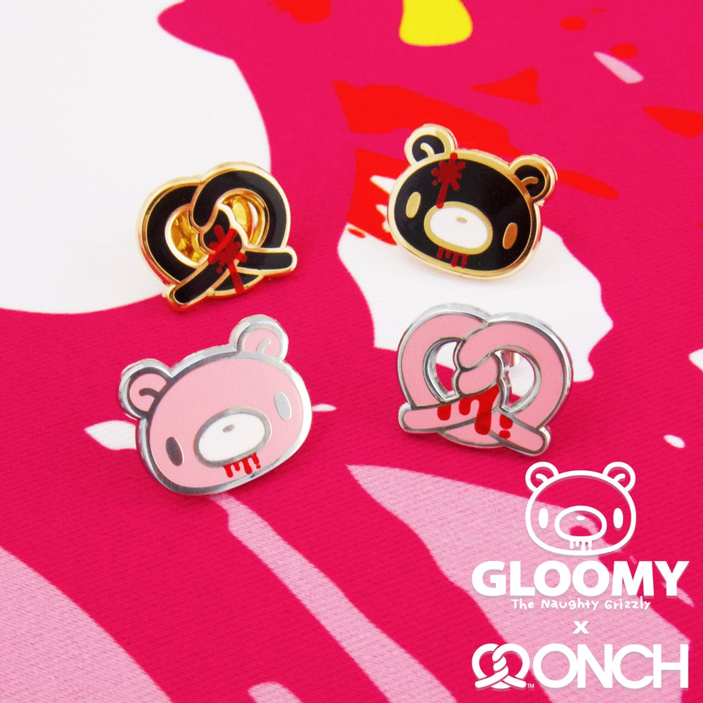 Image of Gloomy Bear x ONCH Earrings Set