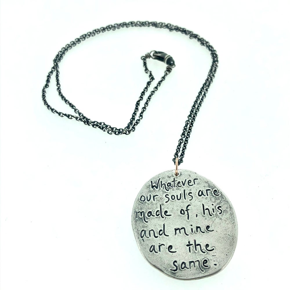 Image of Wuthering Heights paisley necklace