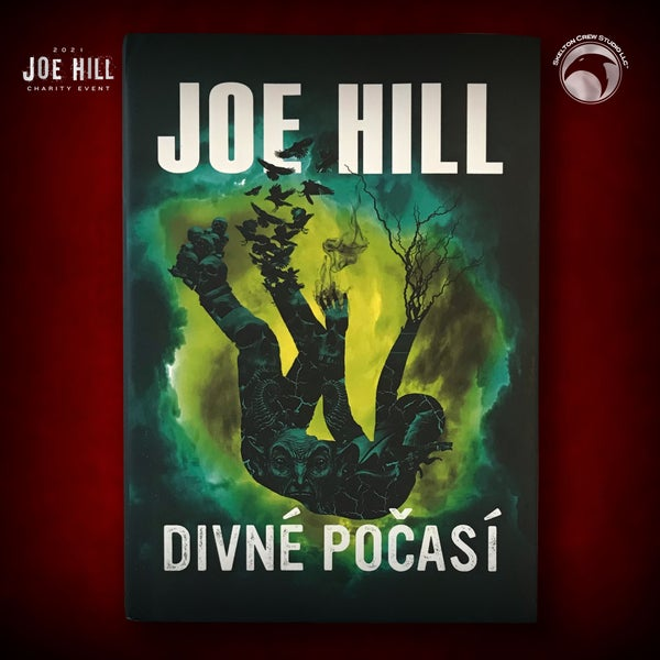 Image of JOE HILL 2021 CHARITY EVENT 27: SIGNED Strange Weather - Czechsolvakian hardcover - 2 AVAILABLE